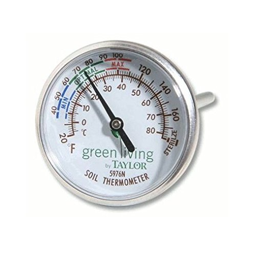 Taylor Soil Testing Thermometer Degrees
