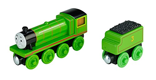 Fisher-Price Thomas Wooden Railway Set, Roll and Glow Henry