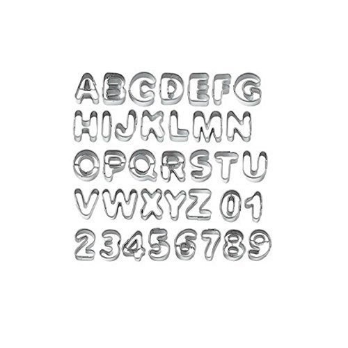 small alphabet cookie cutters - 5