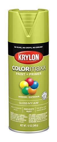 Ivy Leaf Spray - Krylon K05525007 COLORmaxx Spray Paint, Aerosol, Ivy Leaf