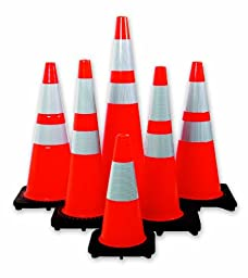 Mutual 17723 Traffic Cone with 10 lbs Reflective, 36\