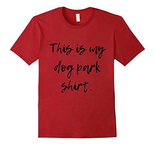 Mens This Is My Dog Park Shirt XL - Clothing Men Macys