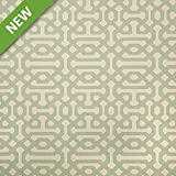 Sunbrella Indoor   Outdoor Upholstery Fabric By The Yard ~ Fretwork Mist
