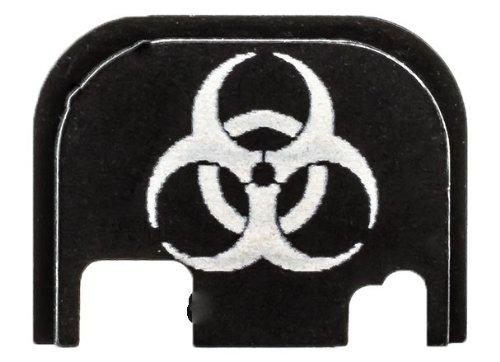 Lone Wolf Glock - Lone Wolf Glock Black Slide Cover Plate - Biohazard (FITS ALL MODELS)