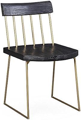 Amazon.com: Madrid Pine Chair Set Of 2: Kitchen & Dining