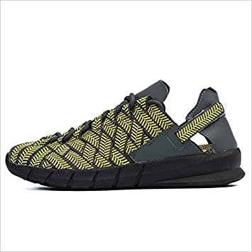 MhC Tejido de Mujer Zapatos de Secado rápido, Zapatos de Senderismo de amortiguación Informal de