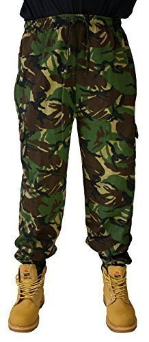 Combat Military Army training style sweat pants camo joggers 5 COLOURS! S-3XL