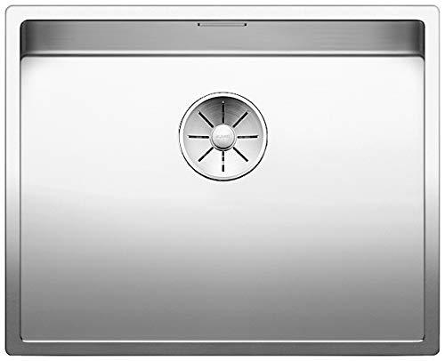 Blanco 521596/Claron Cocina Fregadero XL 60/de U Vapor Gar Plus Fregadero de acero inoxidable de acero inoxidable para la cocina seda brillo