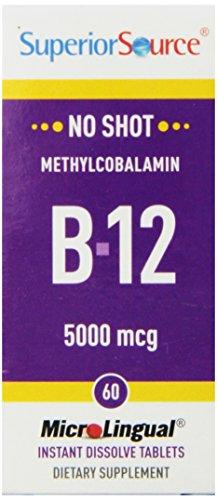 Superior Source Methylcobalamin Multivitamins 5000mcg product image