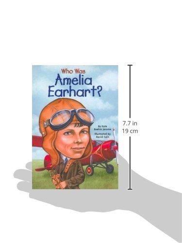 Who Was Amelia Earhart? (Turtleback School & Library Binding Edition)