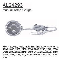 AL24293 John Deere Parts Manual Temp Gauge 820, 92