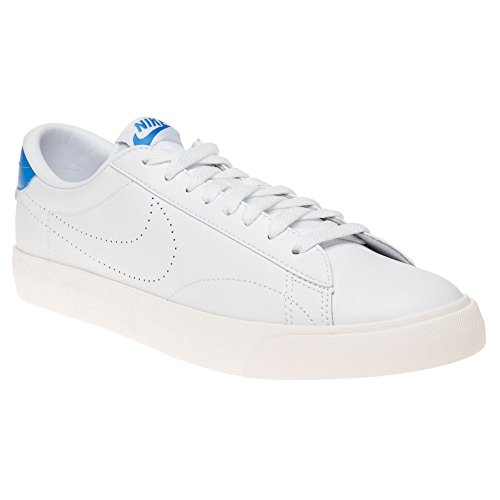 Nike Herren Tennis Classic AC Tennisschuhe, Multicolore-Blanco / Azul (White / White-Lt Photo Blue), 45 EU