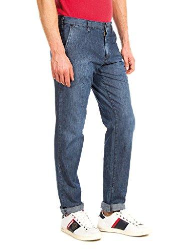 Relaxed Blu Carrera Uomo stone Wash Medio 710 Lavaggio Jeans FxHwx5