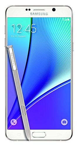 Samsung Galaxy Note5, (VZW) Certified Pre-owned Prepaid Carrier Locked – 5.7″ Screen – 32GB – White (U.S. Warranty)