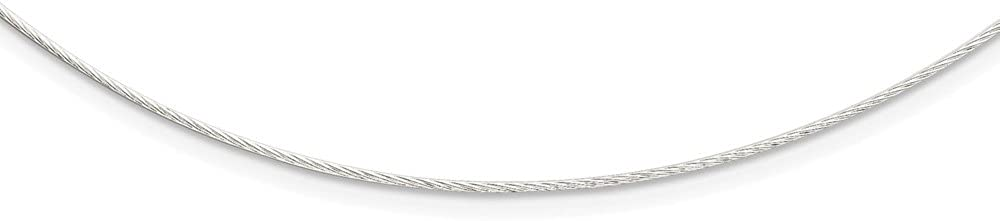925 Sterling Silver 1mm Neckwire Necklace Pendant Charm Chain Fancy Fine Jewelry For Women Gifts For Her