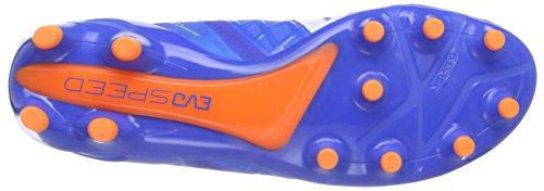 Puma evoSPEED 1.4 FG - zapatillas de fútbol de material sintético hombre azul / blanco