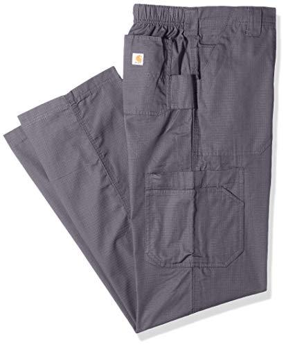 Carhartt Men's Petite Multi-Cargo Pant, Pewter, 2 Extra Large ()