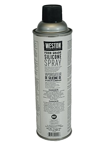 (Weston Food Grade Silicone Spray (03-0101-W), Lubricate Your Equipment, Corrosion Resistance, White)