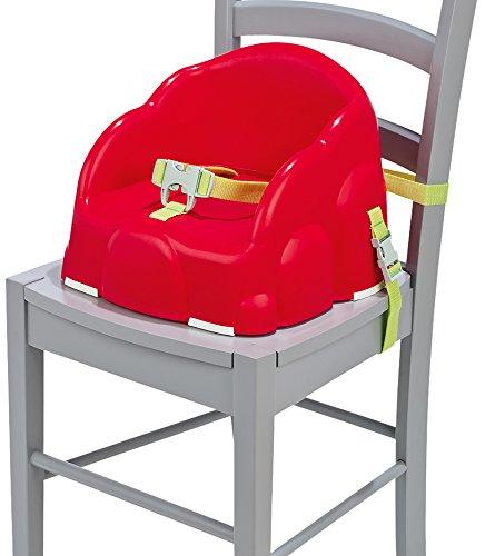 Safety 1st 85028820 Easy Booster, Stuhl-Sitzerhöhung aus Kunststoff, red dot