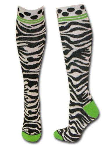 Zebra Knee Socks - 8