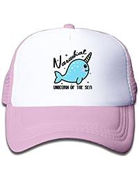 Mesh Baseball Caps Girl Narwhal is Unicorn of The Sea Funny Adjustable e1fbaca188aa