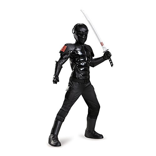 Gi Jo (Gi Joe Snake Eyes Costume Kids)