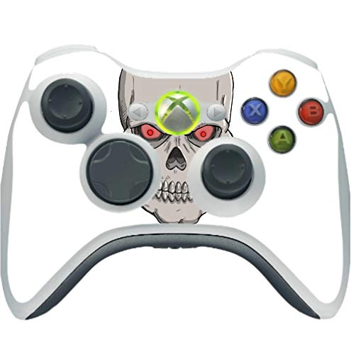 Undead Lord Skull Red Eyes Art Image Xbox 360 Wireless Controller Vinyl Decal Sticker Skin by Trendy Accessories