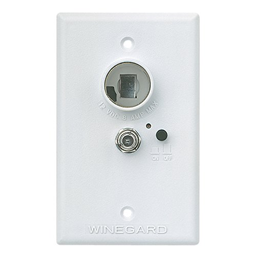 Winegard RV-7042 Wall Plate/Power Supply-White