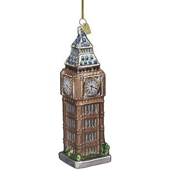 Amazon.com: London, England Personalized Christmas Tree Ornament ...