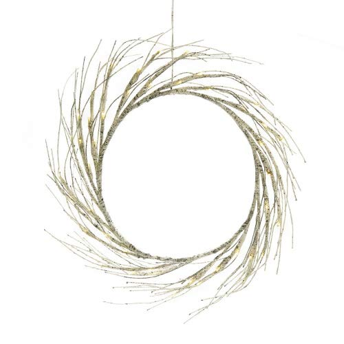60 Outdoor Lighted Wreath in US - 2
