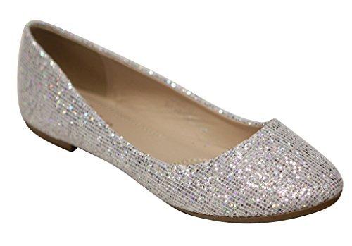 Buy glitter dress shoes - 7