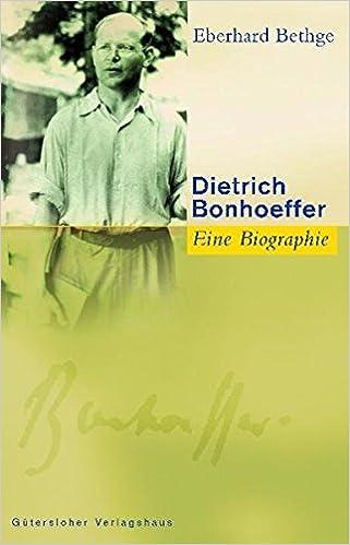 Dietrich Bonhoeffer Evangelische Dietrich