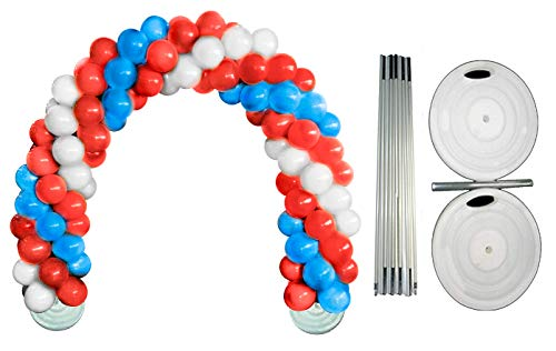 loon Arch Kit (Patriotic Red, White and Blue) (1/Pkg) Pkg/1 ()