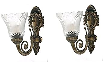 Jyatu Imported Antique Wall Light 2 pack