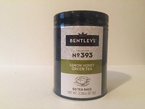 Bentleys Finest Tea - Bentley's Harmony Tin Collection Lemon Honey Green Tea, 50 Tea Bags (Pack of 12)