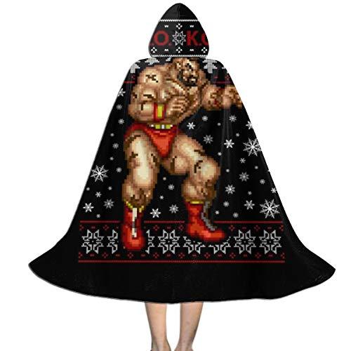 Zangief Halloween Costumes Pack - Street Fighter Christmas Zangief KO Unisex