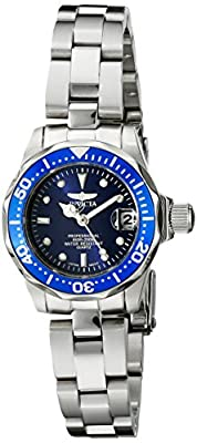 Invicta Women's 9177 Pro Diver Collection Silver-Tone Watch
