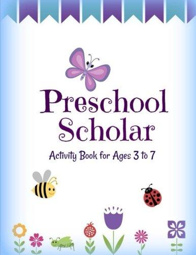 SCHOLAR: Actividad libro para edades de 3a 7Preescolar (Jumbo Aprendizaje de los niños Actividad book-great para viajes...
