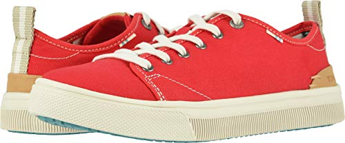 TOMS Women's TRVL LITE Low Poinsettia Canvas 5 B US (Best Child Names 2019)