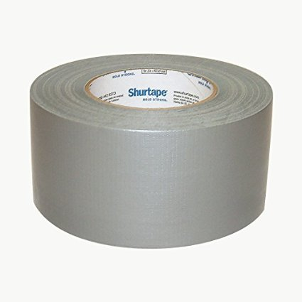 Shurtape PC-600 General Purpose Grade Duct Tape: 3 in. x 60 yds. (Silver)