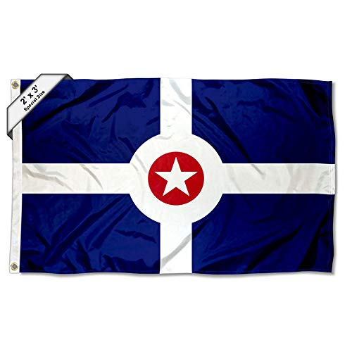 Sports Flags Pennants Company City of Indianapolis 2x3 Flag ()