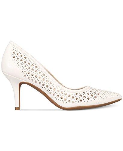 Alfani Womens Jennah Pointed Toe Classic Pumps Cotton 2goldCsm