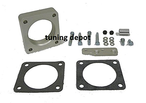 OBX Racing Performance Votex Throttle Body Spacer FORD MUSTANG 1999-2004 4.6L V8 ()