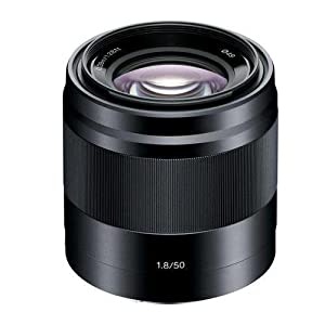 Sony E 50mm f/1.8 OSS Lens