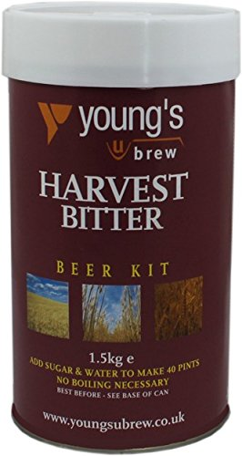 Youngs Brew Home Brew Harvest Bitter Beer Making Kit Makes 40 Pints