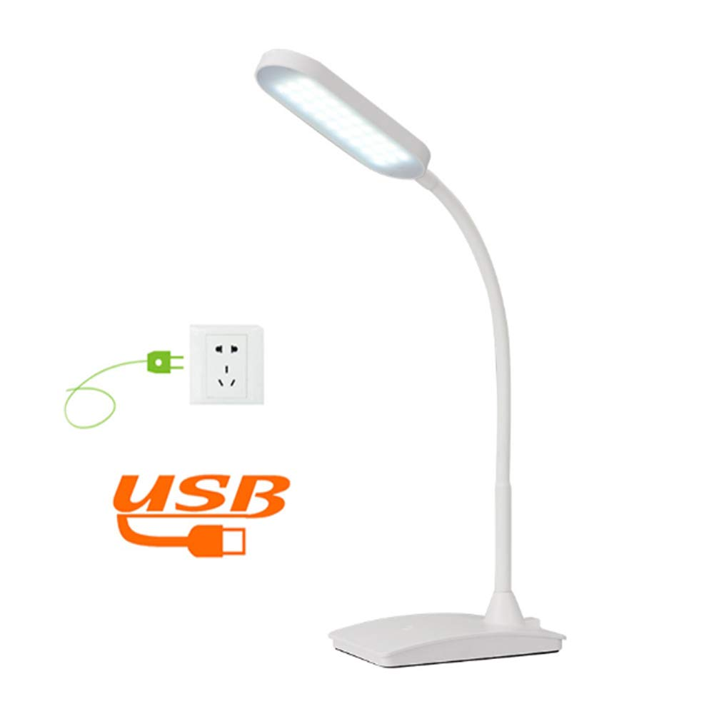 SHINEELI LED Desk Lamp, with USB Charging Port, Touch