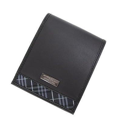 buy online d85a4 5584b Amazon | バーバリー ブラックレーベル 二つ折り財布 タータン ...