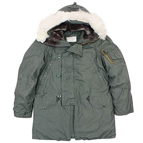 (US Army Military ECW N-3B Snorkel Parka Jacket Coat GI S (Small))