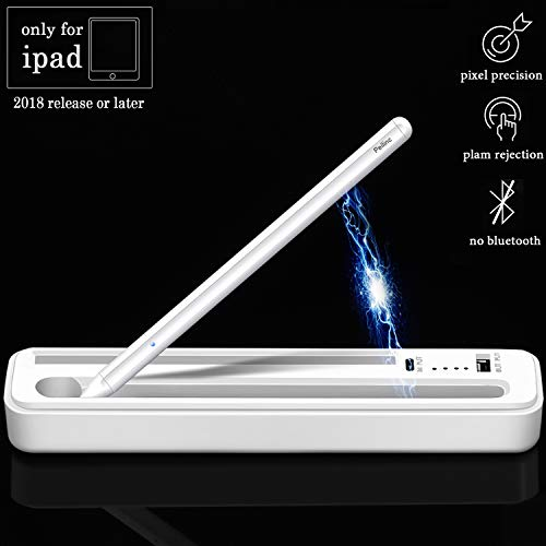 Stylus Pen for Apple iPad Pro, Stylist Active Digital Pencil Support Wireless Charging & Palm Rejection, for iPad Pro 3rd Gen 11/12.9 Inch/Air 3rd Gen/iPad 6th Gen/iPad Mini 5th Gen After 2018