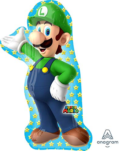 Mario Brothers Luigi Super Shape Foil Balloon for $<!--$4.99-->